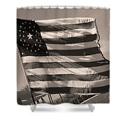 Union Camp Shower Curtain