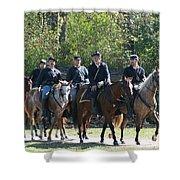 Union Cavalry Shower Curtain