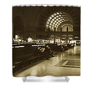 Union Station, Washington Dc 1963 Shower Curtain