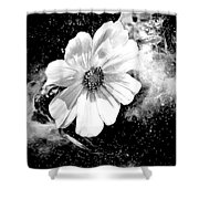 Universal Floral Shower Curtain