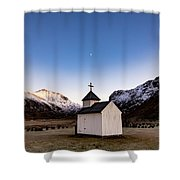 Unstad Chapel Shower Curtain