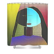 Untitled 904 Shower Curtain