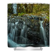 Upper Boulder Creek Falls Shower Curtain