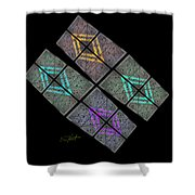 Urban Space Shower Curtain