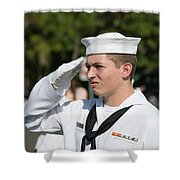 Us Naval Sea Cadet Corps - Gulf Eagle Division, Cape Coral, Florida Shower Curtain