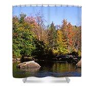 Usa, New York, Adirondack State Park Shower Curtain
