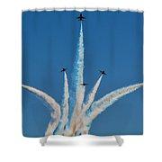Usaf Thunderbirds Media Day 2 Shower Curtain
