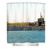 Uss Ohio Shower Curtain