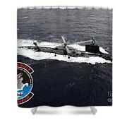 Uss Sea Wolf Shower Curtain