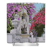 Vacation In Portugal Shower Curtain