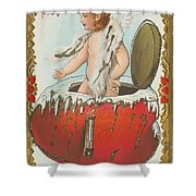 Valentine Design Six Shower Curtain