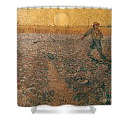 Van Gogh: Sower, 1888 Shower Curtain