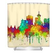 Vancouver B.c. Skyline Shower Curtain
