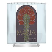 Variation On Our Lady Of Sorrows 236 Shower Curtain