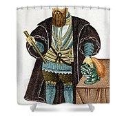 Vasco Da Gama, Portuguese Explorer Shower Curtain