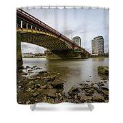 Vauxhall Bridge Shower Curtain