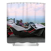Vehicles Series Shower Curtain