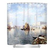 Venetian Grand Canal Shower Curtain by Thomas Moran