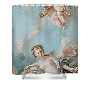 Venus On The Waves Shower Curtain