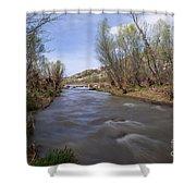 Verde River Shower Curtain