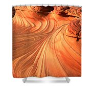 Vermilion Cliffs Dragon Shower Curtain