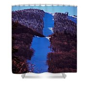 Vermonts Sugarbush Mountain Shower Curtain