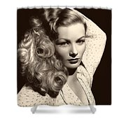 Veronica Lake 1952 Shower Curtain