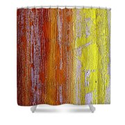 Vertical Interfusion Shower Curtain