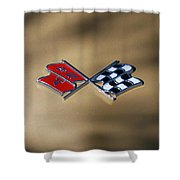 Vette Flags Shower Curtain