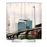 Vienna Modern Shower Curtain
