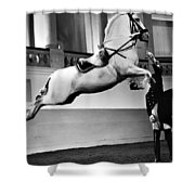 Riding School, Vienna Shower Curtain