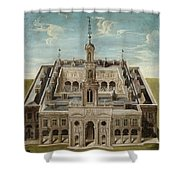 View Of A Castle Shower Curtain