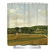 View Of Chatenay Shower Curtain