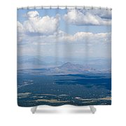 Views From The Pikes Peak Highway Shower Curtain