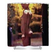 Vincent L Shower Curtain