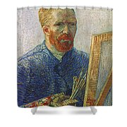Vincent Van Gogh (1853-1890) Shower Curtain
