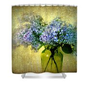 Vintage Lilac Shower Curtain