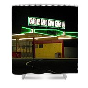 Vintage Pompano Park Shower Curtain