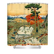 Vintage Poster - Norway Shower Curtain