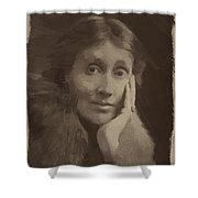 Virginia Woolf Shower Curtain