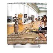 Virtual Exhibition - 33 Shower Curtain