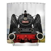 Viseu De Sus Steam Engine Shower Curtain