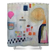 Vision Of Chilhood Shower Curtain