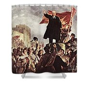 Vladimir Lenin (1870-1924) Shower Curtain