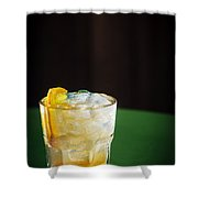 Vodka And Orange Screwdriver Classic Cocktail Drink Shower Curtain