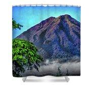 Volcan De Agua, Antigua Guatemala I Shower Curtain