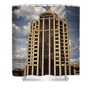 Wachovia Tower Roanoke Virginia Shower Curtain