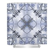 Wagtail Shower Curtain