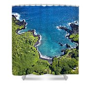 Waianapanapa State Park Shower Curtain
