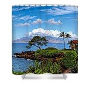 Wailea Point Shower Curtain